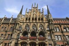 New Town Hall Rathaus in Marienplatz Royalty Free Stock Photo