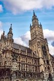 New Town Hall in Munich. New Town Hall Rathaus on Marienplatz square in Munich, Germany Royalty Free Stock Photo