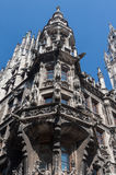 New Town Hall Tower Munich Germany Royalty Free Stock Images