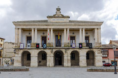 New Town Hall of Zamora, Spain Royalty Free Stock Images