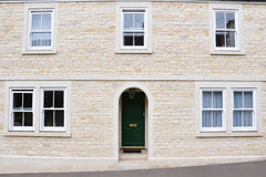 New Town House. Exterior of a newly built town house Stock Photography