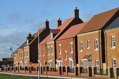 New town houses Stock Photo