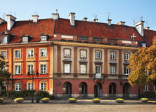 New town market place in Warsaw. Poland Royalty Free Stock Photo