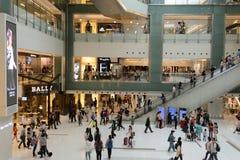 New Town Plaza shopping mall interior Stock Photos