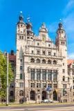 New Townhall, City of Leipzig Royalty Free Stock Photos