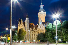 New Townhall Leipzig Royalty Free Stock Images