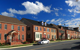 Townhouse Apartment Royalty Free Stock Images