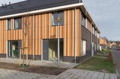 New townhouses Stock Photo