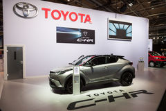 New Toyota C-HR SUV Royalty Free Stock Image