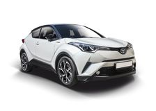 New Toyota C-HR SUV Stock Images