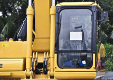 New tracked excavator Stock Images