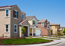 New Tract Homes Stock Image