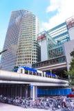 New Train Station Royalty Free Stock Photos