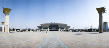 New train station of zhengzhou Stock Image