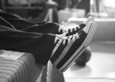 New trainers Royalty Free Stock Images