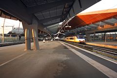 New trainstation Bijlmer in  Holland. New trainstation Bijlmer in Amsterdam Holland Stock Photos