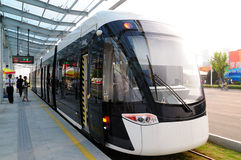 New Tram Stock Photography