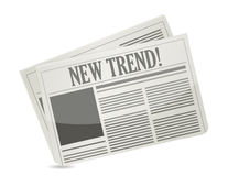 New Trend newspaper Royalty Free Stock Images