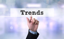 New Trends Future Bussiness Stock Photos