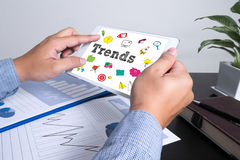 New Trends Future Bussiness Growing Concept Royalty Free Stock Photography