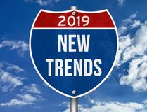 New Trends for 2019 royalty free stock images