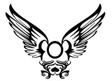 New tribalb. Illustration of a tribal wings vector illustration