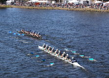 New Trier High School Milwaukee Rowing Club Royalty Free Stock Images