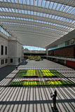 New Atrium in the Cleveland Museum of Art Stock Images