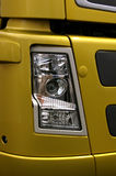 New truck details. Truck details - lights and front design elements Stock Images