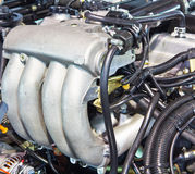 New truck engine Stock Photography