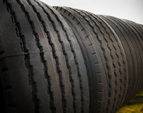 New truck tires Stock Image