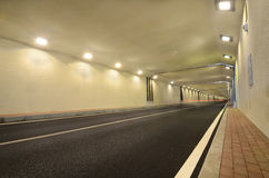 New Tunnel. This picture shows a new tunnel in Harbin, China Stock Photo