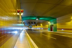New tunnel Royalty Free Stock Photo