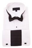 New tuxedo shirt Royalty Free Stock Photo