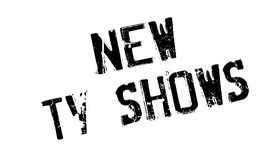 New Tv Shows rubber stamp Stock Photos