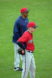 New Twins Manager Paul Molitor and Tony Oliva Royalty Free Stock Image