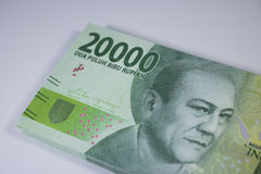 New two thousand rupiah money indonesia currency cash finance payment Royalty Free Stock Images