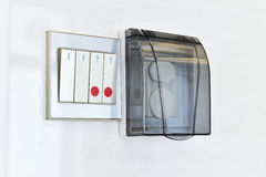 New type of power switch Stock Photos