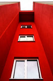 New typical economy apartments building Royalty Free Stock Images
