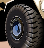 New Tyre Royalty Free Stock Photography