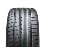 New tyre isolated on white background Royalty Free Stock Image