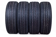 Free New Tyres Royalty Free Stock Photo - 21119295