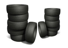 New tyres Stock Image