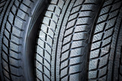 New tyres. Winter all weater Royalty Free Stock Image
