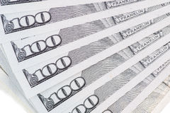 New U.S. 100 dollar bill Royalty Free Stock Photo