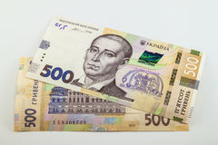 New 500 UAH & x28;Ukrainian hryvnia& x29; the national currency of Ukraine Stock Photography