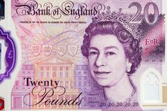 Free New UK Twenty Pound Note Currency Stock Image - 177059041