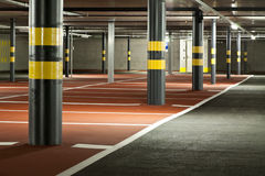 New underground parking Stock Photography