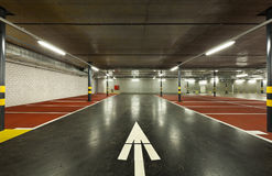 New underground parking Stock Photo