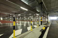 New underground parking Stock Image